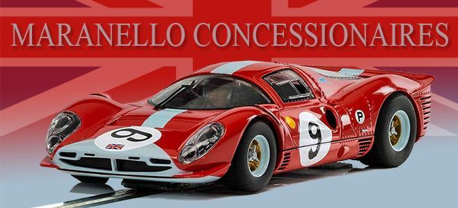 FERRARI 412P BRANDS HATCH 1967 SCALEXTRIC