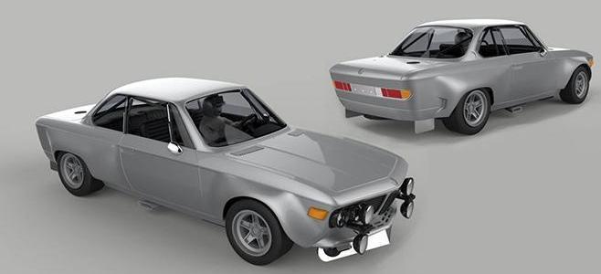 BMW SCHNITZER 2.8 CS SRC