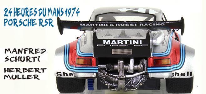 PORSCHE 911 RSR TURBO LM 74 LMM