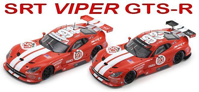 SRT VIPER GTS R GLEN SCALEAUTO