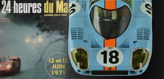 PORSCHE 917 LH LE MANS MINIATURES