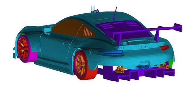 PORSCHE 991 GT3 RSR SCALEAUTO