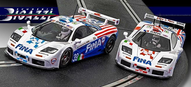MCLAREN F1 GTR FINA LE MANS 1996 SCALEXTRIC
