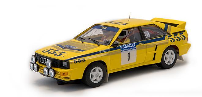 AUDI QUATTRO A2 HK B FLY CAR MODEL