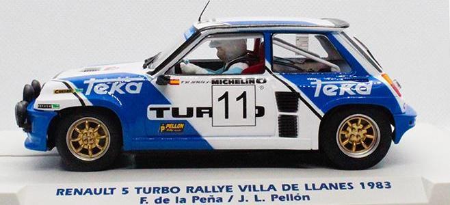 R5 TURBO FLY CAR MODEL LLANES