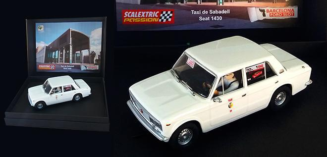 SEAT 1430 TAXI SABADELL SCALEXTRICPASSION