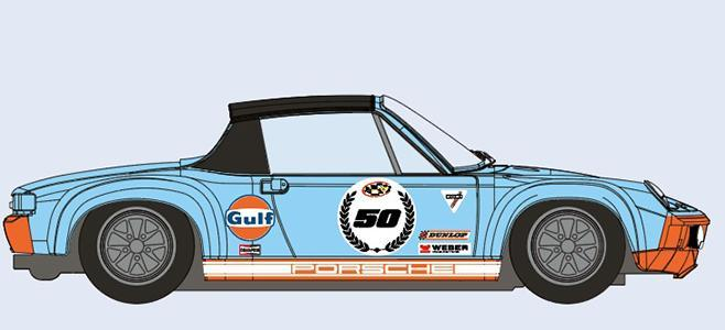 PORSCHE 914 6 GT 50TH SRC