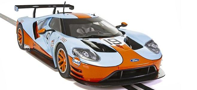 FORD GT GTE GULF SCALEXTRIC