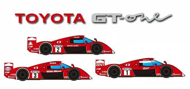 TOYOTA GT 0NE PREVIEW REVOSLOT