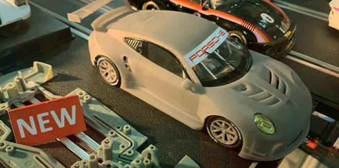 PORSCHE 911 RSR PREVIEW SCALEAUTO