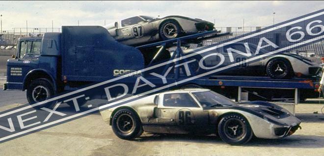 DAYOTAN 66 FORD GT40 FLYCAR MODEL