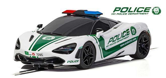 MCLAREN 720S POLICE SCALEXTRIC
