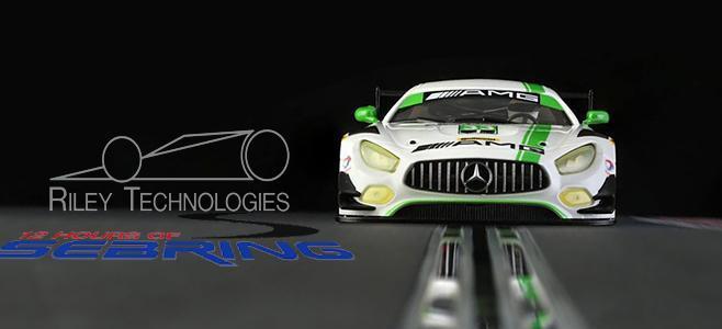 MERCEDES AMG GT3 SEBRING NSR