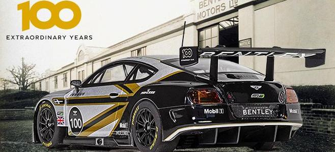 BENTLEY GT3 CENTENNNIAL SCALEXTRIC