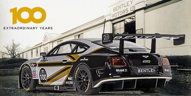 BENTLEY GT3 CENTENNNIAL SCALEXTRIC