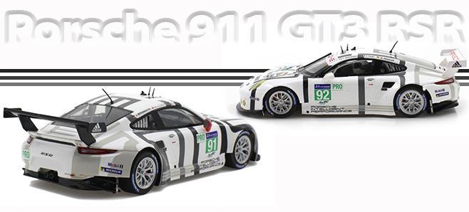 911 RSR GT3 MANTHEY SCALEAUTO