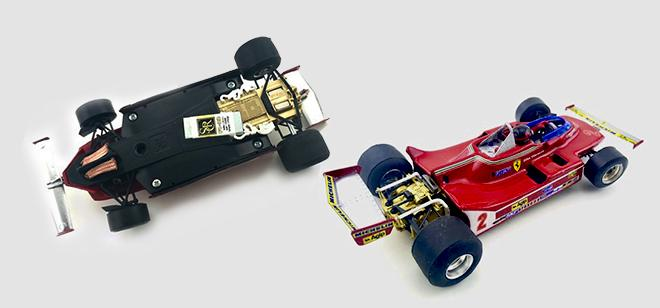 FERRARI 312 T5 CHEQUERED FLAG