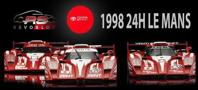TOYOTA GT 0NE LM 1998 REVOSLOT