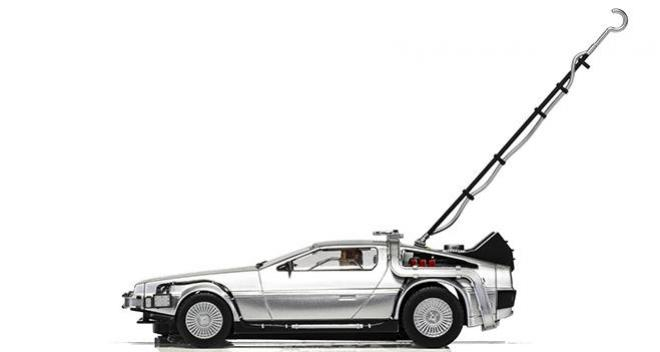 DELOREAN BTTF SCALEXTRIC