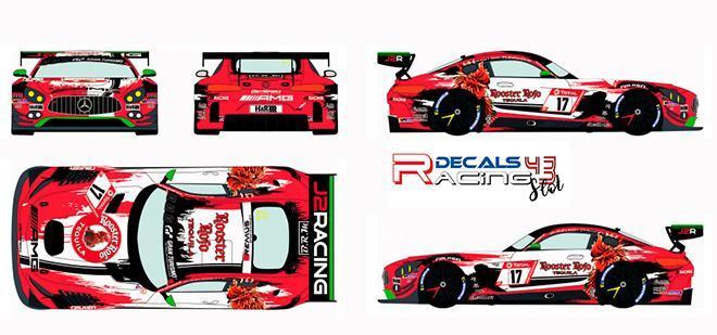 RACING DECALS AMG 32