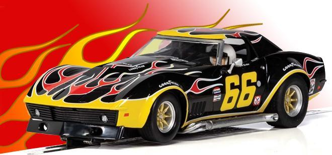 L88 FLAMES SCALEXTRIC
