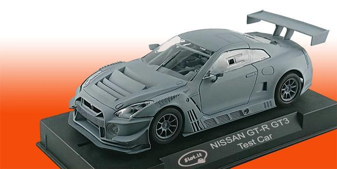 NISSAN GT-R GT3 SLOTIT TEST