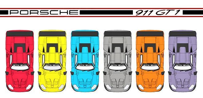 PORSCHE 911 GT1 EVO MRSLOTCARS