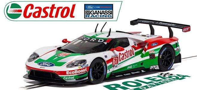 FORD GT GTE CASTROL SCALEXTRIC