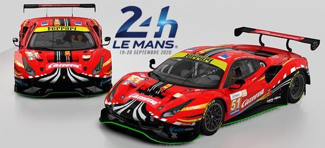 FERRARI 488 GTE CARRERA LE MANS