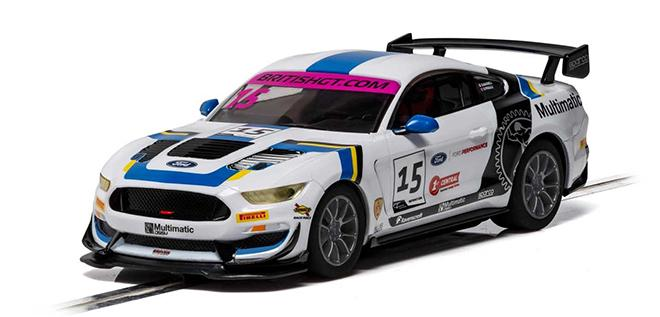 FORD MUSTANG GT4 SCALEXTRIC