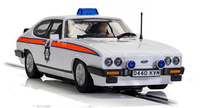 FORD CAPRI MK3 POLICE SCALEXTRIC