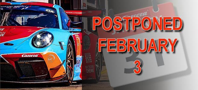 carrera postponed