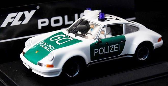 911 POLIZEI FLY CAR MODEL