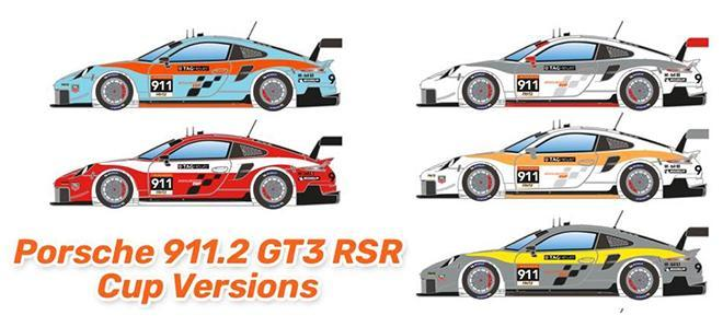 911 GT3 RSR CUP SCALEAUTO