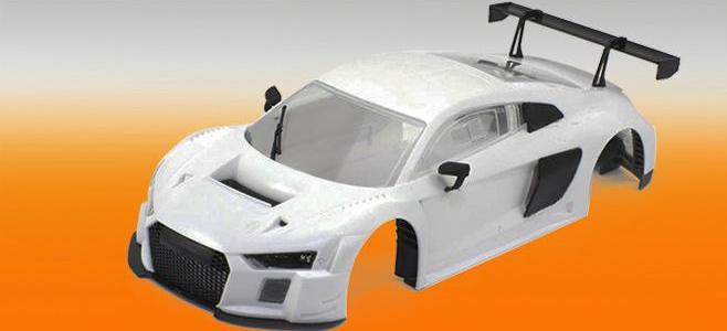 AUDI R8 LMS 124 KIT SCALEAUTO