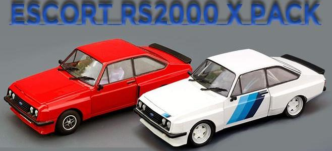 FORD ESCORT RS2000 XPACK TEAM SLOT