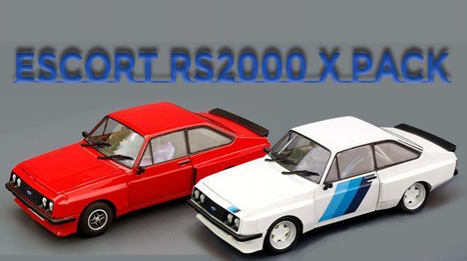 FORD ESCORT RS2000 XPACK TEAM SLOT