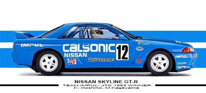 NISSAN SKYLINE GT R SLOTIT