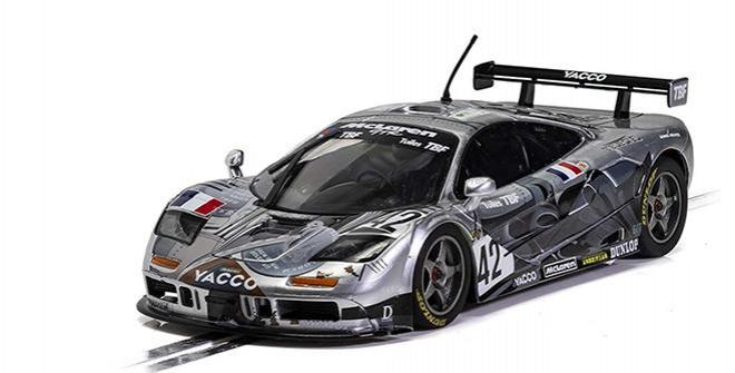 MCLAREN F1 GTR AT CAR SCALEXTRIC