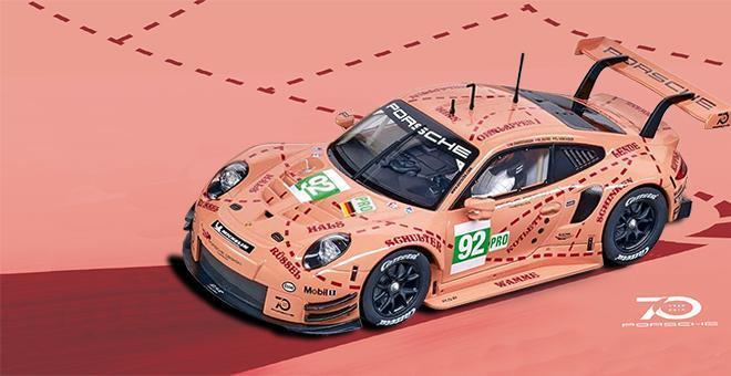 PORSCHE 911 RSR PINK CARRERA