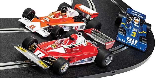 TRIPLE PACK BRITISH GP 1976 SCALEXTRIC