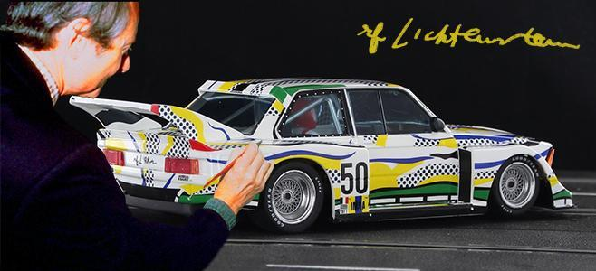 BMW 320I ART CAR SIDEWAYS