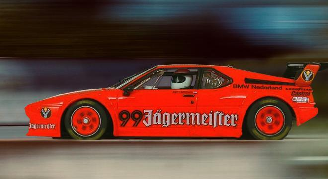 BMW M1 LAMMERS FLY CAR MODEL