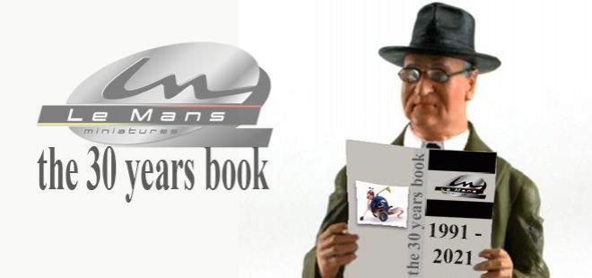 LE MANS MINIATURES BOOK